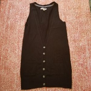Sweater vest / button down tanktop Cardigan